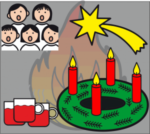 Adventsfeuer