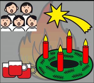 Adventsfeuer