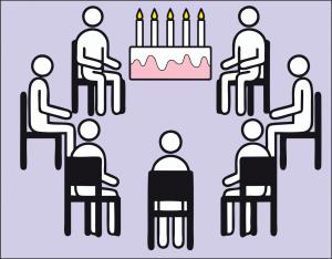 Geburtstagsmorgenkreis für Herr Paul