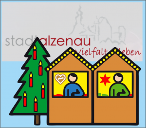 B-Stufen-Stand am Weihnachtsmarkt Alzenau