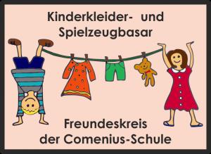Kleider- und Spielzeug-Basar des Freundeskreis Comenius-Schule