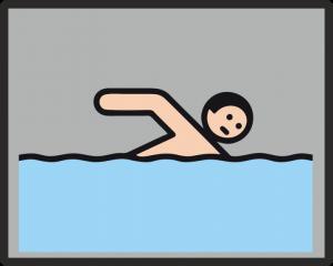 Schwimmturnier der unterfränkischen Förderschulen